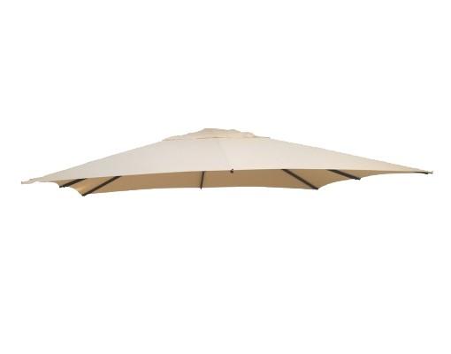 Toile de remplacement Beige en OLEFIN pour parasol Easy Sun 320