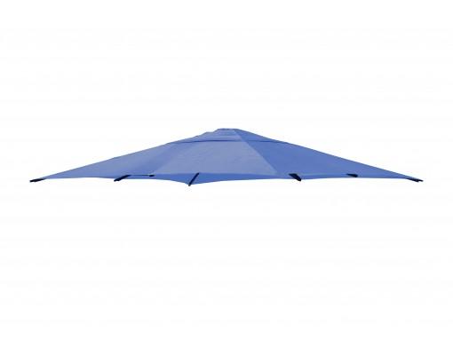 Toile de remplacement Bleu Pétrole en Olefin pour parasol Easy Sun 320