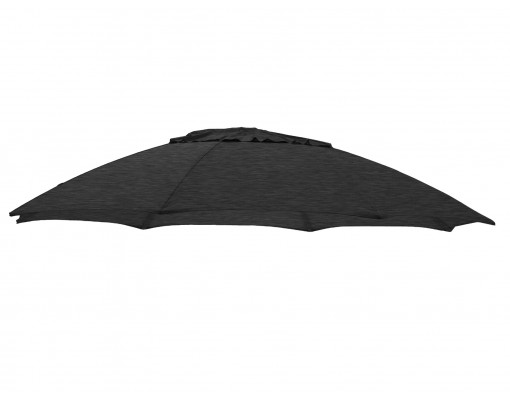 Toile de remplacement Carbone en Olefin pour parasol Easy Sun 375