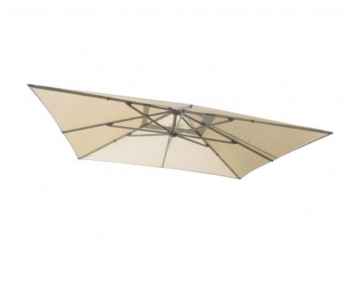 Toile de remplacement Taupe clair en Olefin pour parasol Easy Sun 320