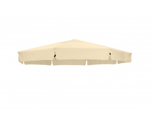 Toile de remplacement Beige en Olefin pour parasol Easy Sun 350