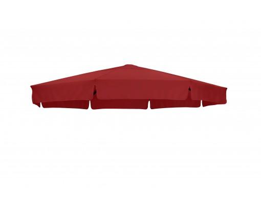 Toile de remplacement Bordeaux en Olefin pour parasol Easy Sun 350