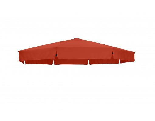 Toile de remplacement Terracotta en Olefin pour parasol Easy Sun 350