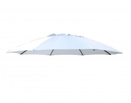 Toile de remplacement Gris clair en Olefin pour parasol Easy Sun 375