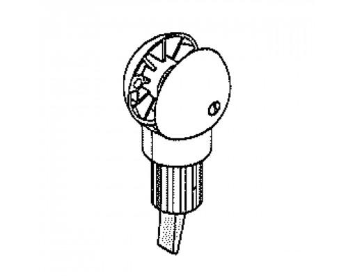 Système de freinage blanc pour parasol Sun Garden Easy Sun