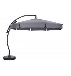 Parasol déporté Sun Garden - Easy Sun classique avec volants - toile Olefin Titanium
