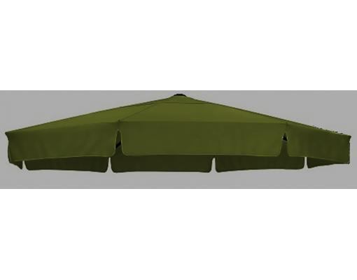 Toile de remplacement vert en Olefin pour parasol Easy Sun 350