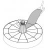 Pied de parasol à remplir Sun Garden - Easy Sun Anthracite