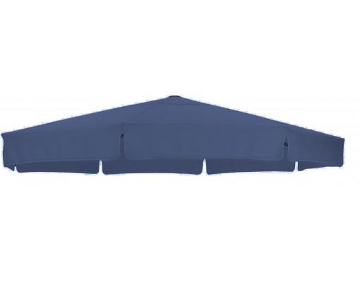 Toile de remplacement Dark blue en Olefin pour parasol Easy Sun 350